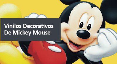 Vinilos decorativos de Mickey Mouse