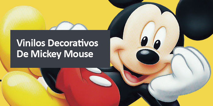Vinilos decorativos de Mickey Mouse