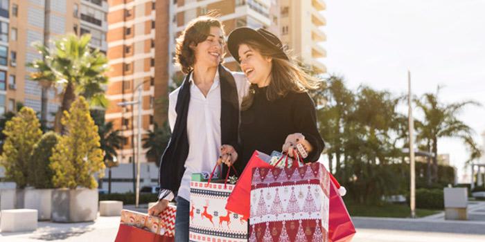 Vinilos decorativos de Navidad para escaparates